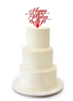 Happy Birthday 16 taarttopper