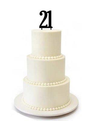 21 taarttopper