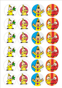 Bumba cake toppers