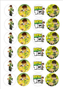 Ben10 cake toppers
