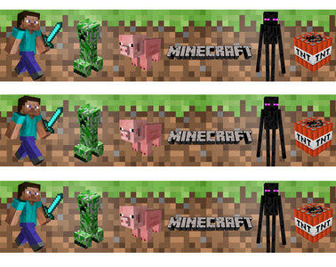 Minecraft taartrand