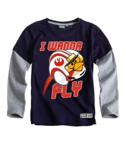 Angry Birds Star Wars shirt