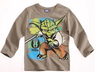 Star Wars kindershirt Yoda