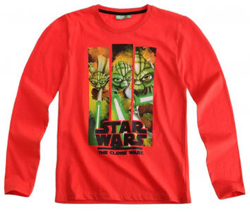 Star Wars The Clone Wars kindershirt Yoda