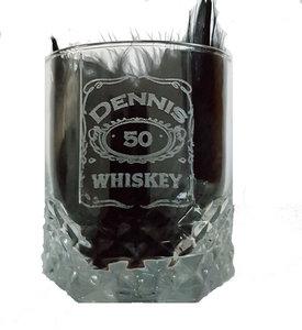Whiskeyglas gegraveerd