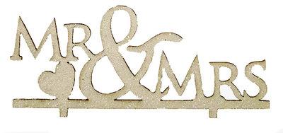 Taarttopper karton Mr&Mrs