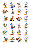 Donald Duck cake toppers